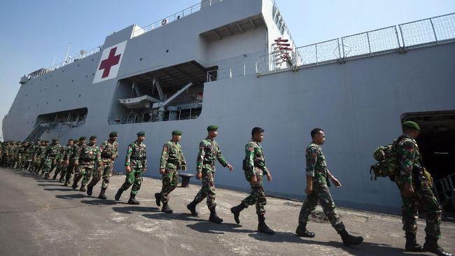 TNI Kerahkan 250 Prajurit Buka Jalur Terisolasi di Sigi
