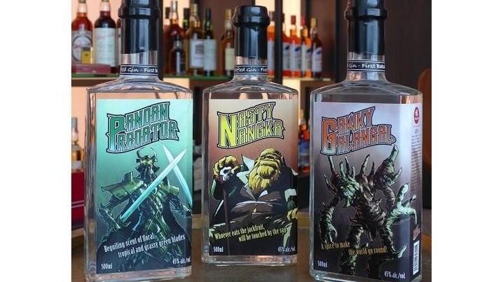 Malaysia bakal meluncurkan minuman gin rasa pandan, nangka, dan lengkuas