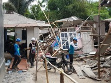 26% Wilayah Masih Padam dan 50 Konduktor Rusak di Lombok
