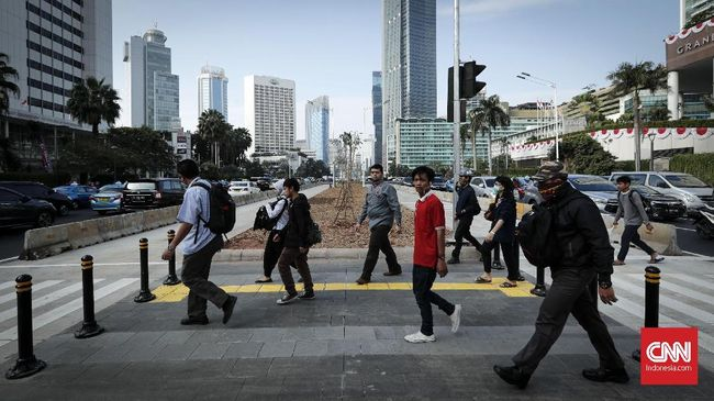 IMF Pangkas Proyeksi Pertumbuhan Ekonomi RI Jadi 5,1 Persen