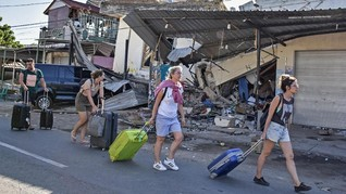 Gempa Lombok, Hotel-hotel di Bali 'Kelimpahan' Ribuan Turis