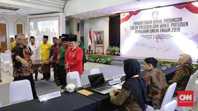 Koalisi Jokowi Konsultasi ke KPU soal Waktu Pendaftaran