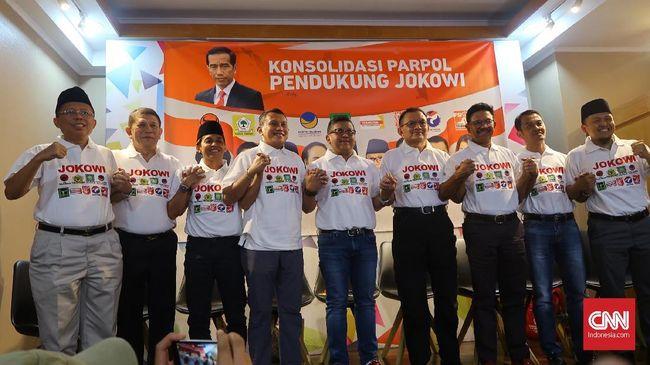 Partai Koalisi Jokowi akan Bertemu Bahas Komposisi Kursi MPR