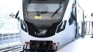 VIDEO: Menjajal LRT Palembang, Transportasi Asian Games 2018