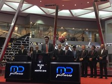 Lapkeu Diapresiasi Investor, Harga Saham FILM Menguat 9,95%