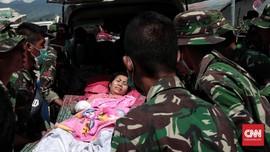 FOTO: Operasi Penyelamatan di Lombok Pascagempa 7,0 SR