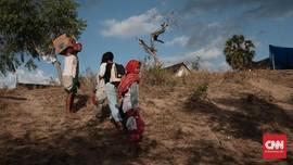 Warga Mataram Panik Akibat Gempa Lombok 6,2 SR