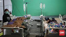 FOTO: Korban Gempa Lombok di RSUD Mataram