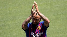 Vidal Salah Ucap Soal Kemenangan Barcelona di Copa del Rey