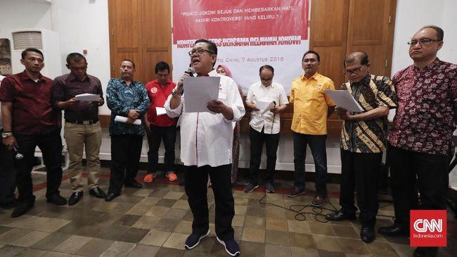 Relawan Jokowi: Pidato 'Berantem' Bentuk Orasi Menyejukkan