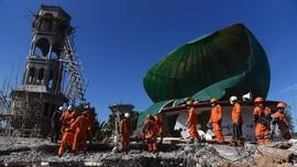 Korban Jiwa Gempa Lombok Bertambah Jadi 460 Orang