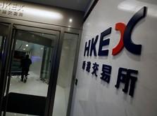 Perang Dagang Makin Panas, Bursa Hong Kong Dibuka Turun 0,4%