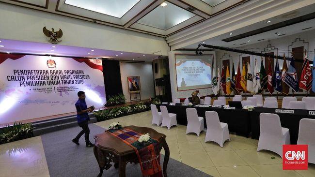 Jokowi-Maruf Tes Kesehatan Minggu, Prabowo-Sandi Senin Depan