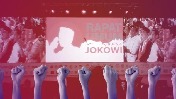 Pidato 'Berantem' Jokowi