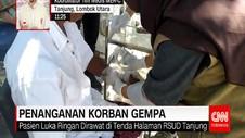 RSUD Tanjung Dipenuhi Pasien Korban Gempa