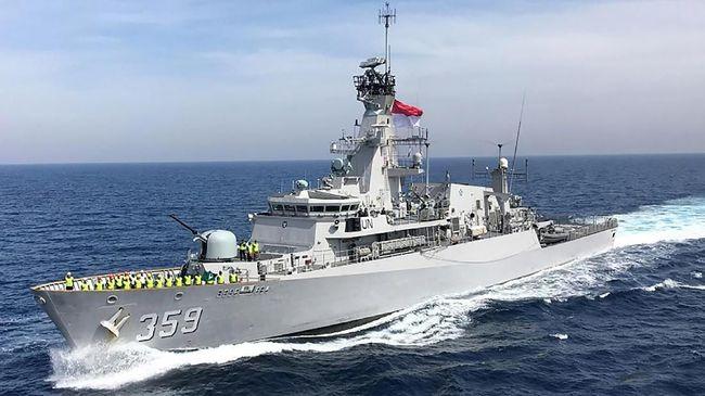 Kapal Perang RI Penjaga Natuna Pernah Bikin Jengkel Singapura