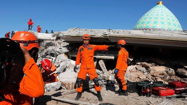 Dana Rp 12,21 T Disiapkan untuk Bangun Lombok Usai Gempa