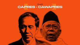 INFOGRAFIS: Duet Nasionalis Religius Jokowi-Ma'ruf Amin