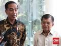 Jokowi Konfirmasi ke JK Bakal Daftar Capres sebelum Jumatan