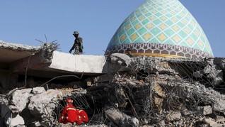 Korban Tewas Sementara Gempa Lombok 548 Orang