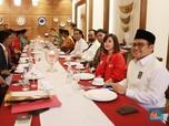 Dedengkot Parpol Merapat di Menteng Bahas Cawapres Jokowi