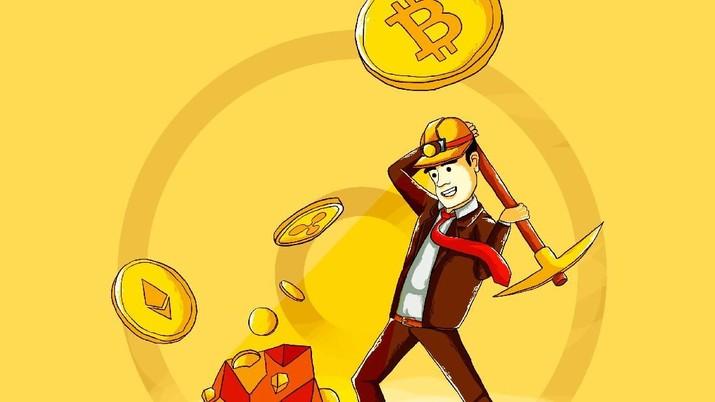 Pria Ini Punya Perusahaan Rp 204 T dari Penambangan Bitcoin