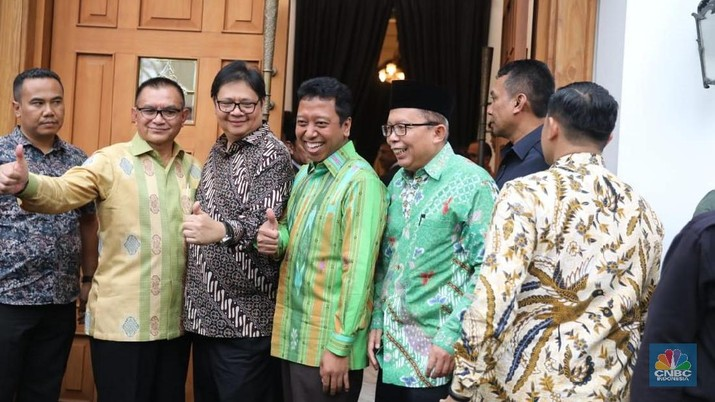 Pertemuan tersebut membahas finalisasi Cawapres dari Jokowi.