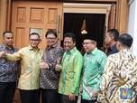 Surya Paloh dan Airlangga Ikut Pembahasan Cawapres Jokowi