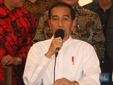 Rapat 3 Jam dengan Para Menteri, Jokowi Risau Soal CAD