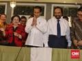 Megawati dan Jokowi Tertawa Saat Ditanya soal Mahfud MD