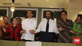 Menu Santap Malam Jokowi dan Koalisi di Plataran Menteng