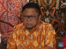 OSO Ogah Di-Wantimpres-kan, Jokowi: Beliau Lebih Cinta Partai