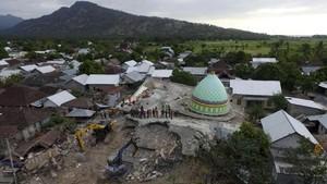 PVMBG: Gempa Susulan Lombok Terjadi di Zona Persesaran Naik