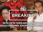 Detik-Detik Jokowi Pilih Ma'ruf Amin Sebagai Cawapres