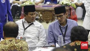 Beda Data Utang dengan Prabowo, Sandi Singgung Perbedaan Kurs