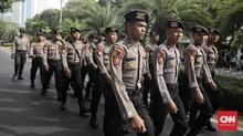 Ribuan Polisi Kawal Pengambilan Nomor Urut Capres di KPU