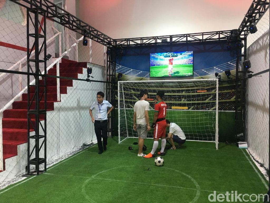 Kalau ini Football 2020. (Foto: detikINET/Agus Tri Haryanto)