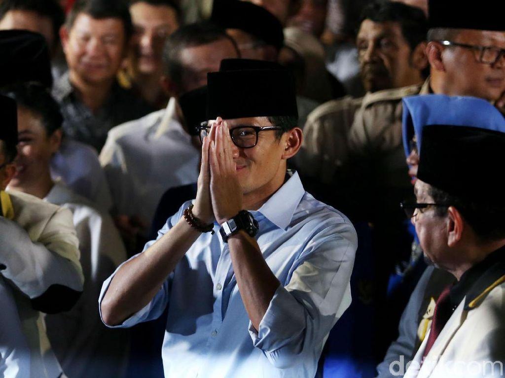 Deretan Gelang Cawapres Prabowo Sandiaga Uno, Ada yang Kontroversial