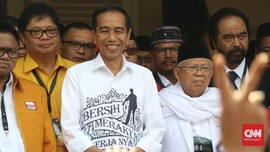 Jokowi-Ma'ruf Bagi Tugas Rebut Suara Nasionalis dan Religius