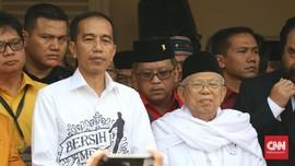 Jokowi Dikabarkan Simulasi Debat Capres, Aparat Berjaga