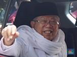 Ma'ruf Amin Belum Mau Mundur dari OJK dan 4 Bank Syariah