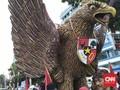 Garuda Pancasila dan Gamelan dari Bali untuk Jokowi