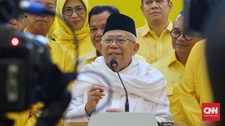 Ma'ruf Bantu Jokowi Rancang Strategi Bangun Landasan Ekonomi