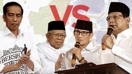 Jokowi-Ma'ruf Amin & Prabowo-Sandiaga untuk 2019-2024