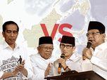 Real Count KPU 09.00 WIB, Jokowi 55,05% & Prabowo 44,95%