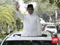 FOTO: Konvoi dan Marching Band Antar Prabowo-Sandiaga ke KPU