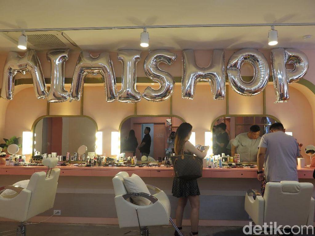 Mengintip Salon Gemas Lokasi Syuting Variety Show Korea Mimi Shop