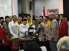 Jokowi dan Ma'ruf Resmi Daftar Capres-Cawapres ke KPU