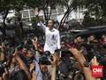 FOTO : Langkah Jokowi-Ma'ruf dari Gedung Joang ke Kantor KPU