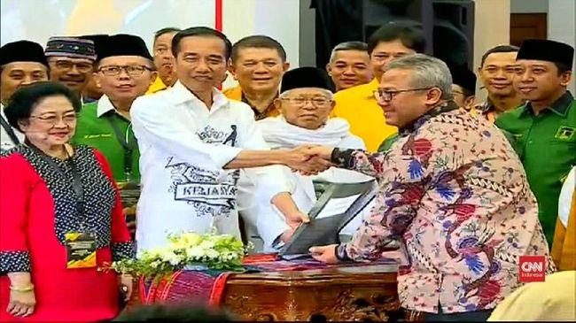VIDEO: Jokowi Ajak Rakyat Berdemokrasi, Bukan Perang